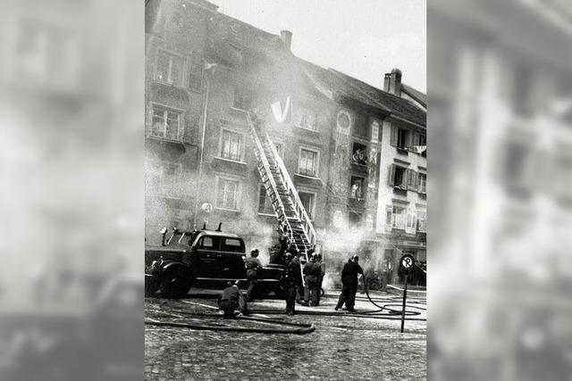 Die Feuerwehr in ihrer schwierigsten Zeit