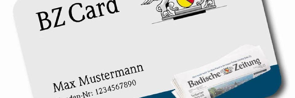 Attraktive Dauerrabatte mit der BZCard