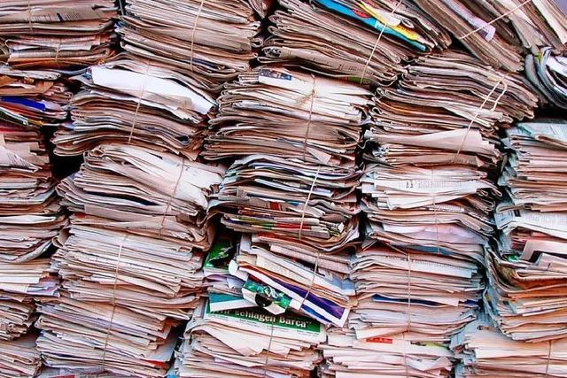 Vereine aus der Ortenau bekommen mehr Geld fürs Altpapier