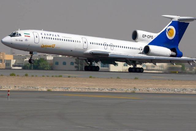 Flieger stürzt im Iran ab – 168 Tote?