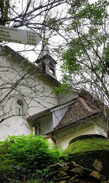 Für Wanderer und Pilger wieder geöffnet:  Johanneskapelle in Staufen   | Foto: M. Donner