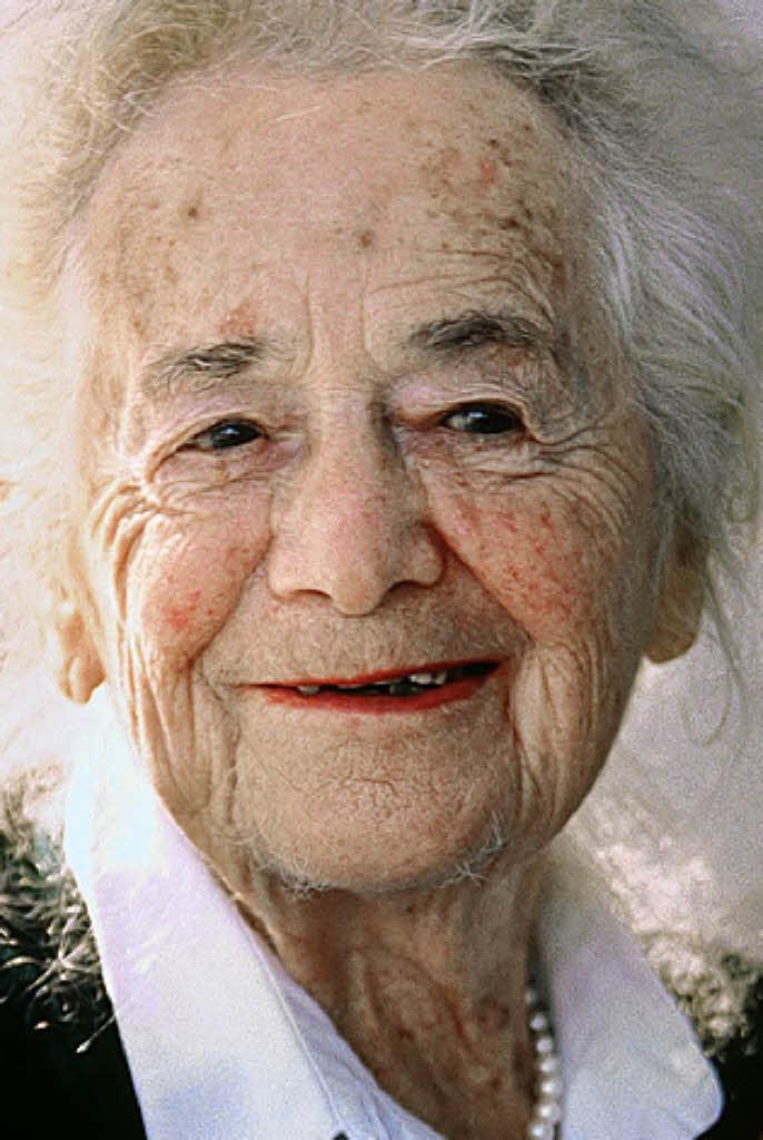 Hilde Domin zu ihrem 100. Geburtstag - Steinen - Badische ...