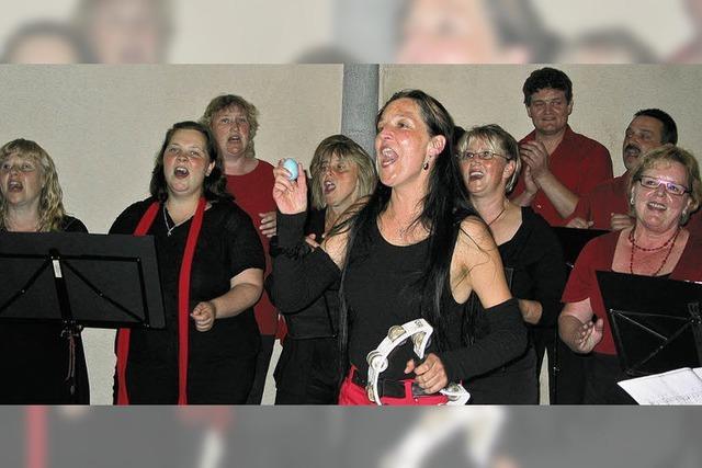 Mitreißendes Konzert eines ambitionierten Chors
