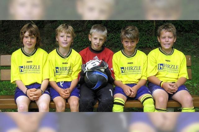 Junge Fußballtalente machen auf sich aufmerksam