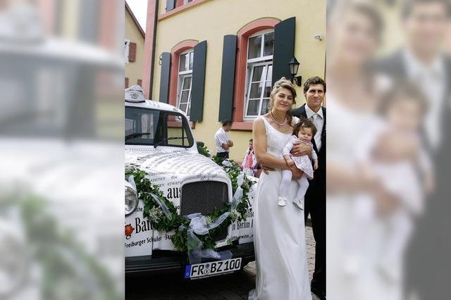 Fünf Hochzeitspaare feiern am 09. 09. 09