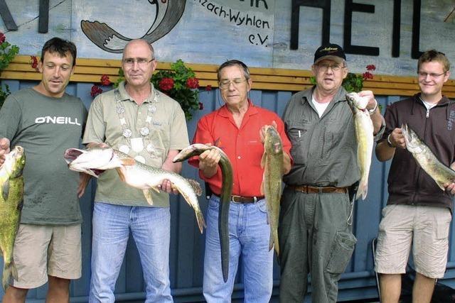 Der neue Fischerkönig heißt Klaus Leisinger