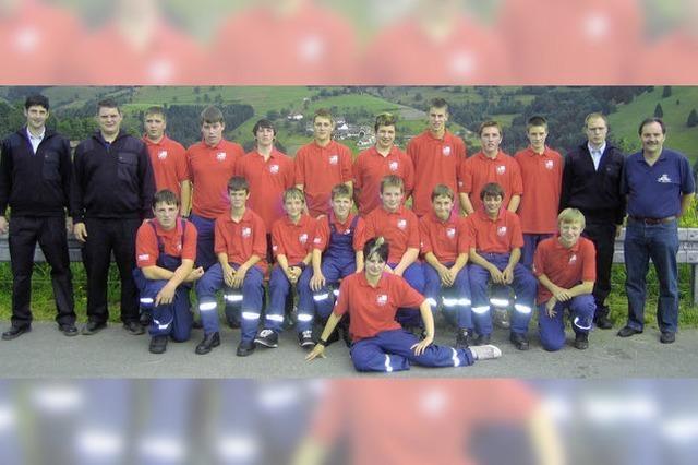 150 Jugendliche gingen zur Feuerwehr