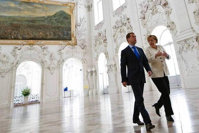 Deutschland und Russland rücken enger zusammen