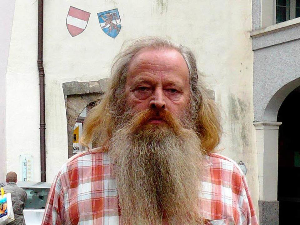 Die Freiburger kannten ihn als Bettler...te lebt Aimé de Palézieux in Waldshut.  | Foto: privat
