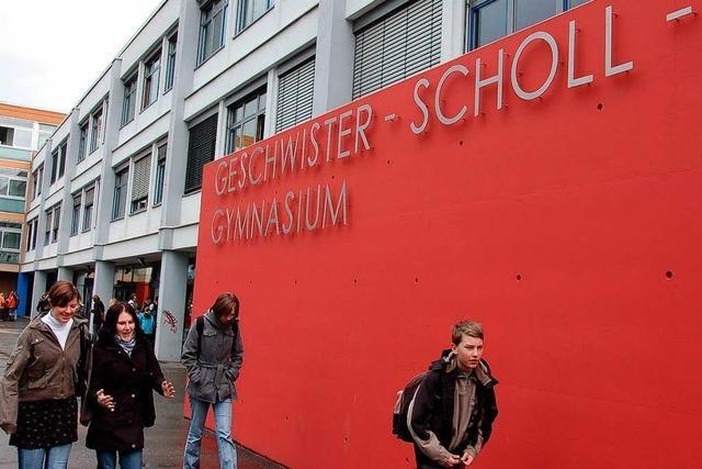 Vierstellige Schülerzahl am Gymnasium