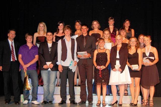 Abschlussfeier an der Hugo-Höfler-Realschule