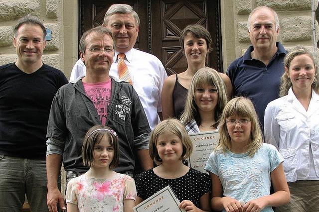 Vier junge Damen sind die Preisträger 2009