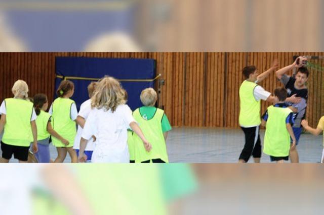 Nachwuchs für Handball begeistern