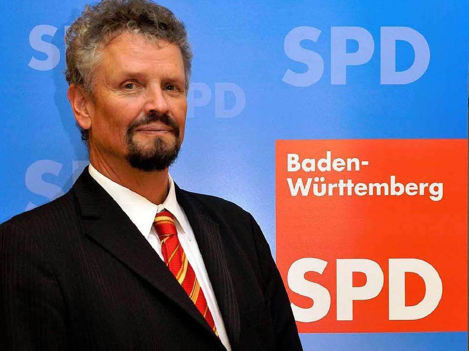 Titelverteidiger fürs Direktmandat: Staatsminister Gernot Erler (SPD)  | Foto: Thomas Kunz