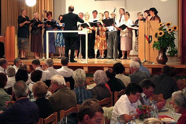 Wittlinger Chor: Klein, aber mit eigener Handschrift