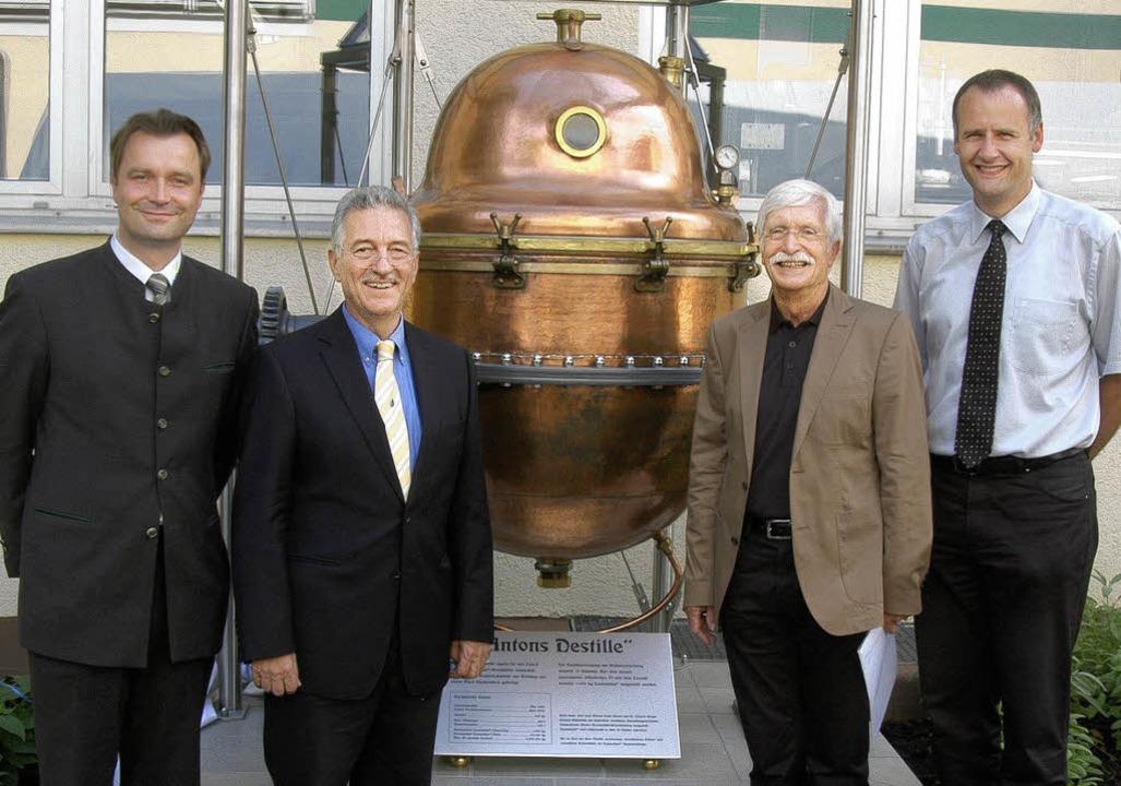von links: Gerald  Dohme (Geschäftsfüh...Thomas Breig (Bildrechte Firma Hübner)  | Foto: Privat