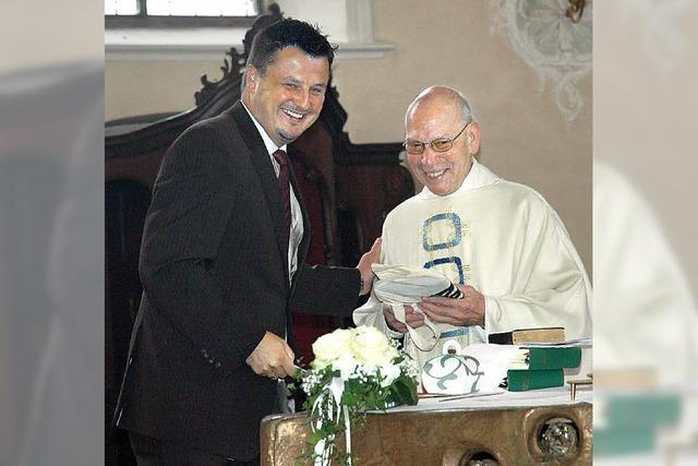 Ein großer Festtag für Pfarrer Wolfgang Kirsten