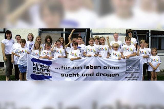 Karateschule kämpft gegen Sucht