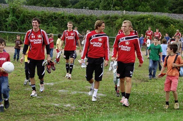 Hurra: Bayer 04 ist wieder hier