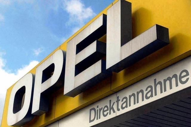 Bieterwettstreit: Drei wollen Opel