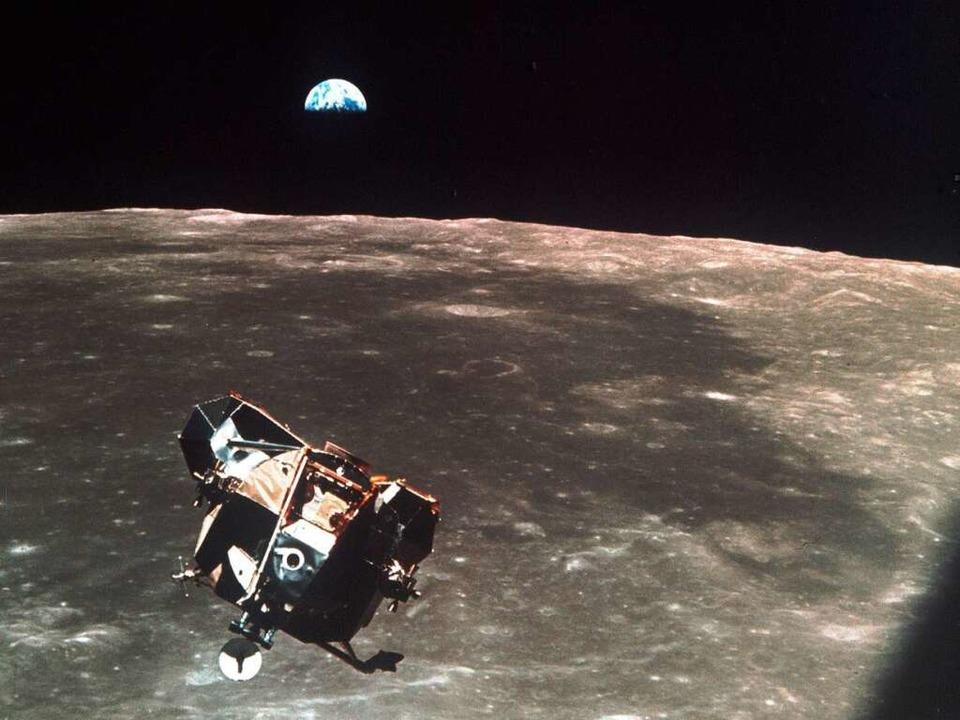 Dem Mond am Computer ganz nah – dank Google.  | Foto: dpa