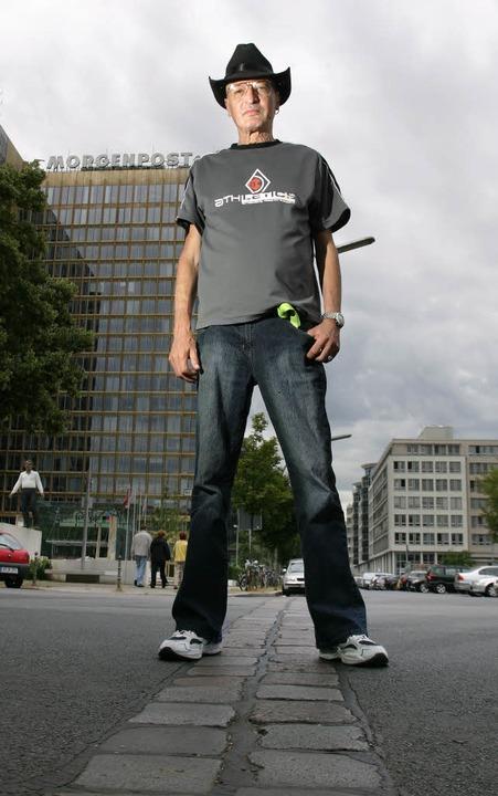 Mauerspringer Udo Cörsgen  | Foto: Christian Kielmann