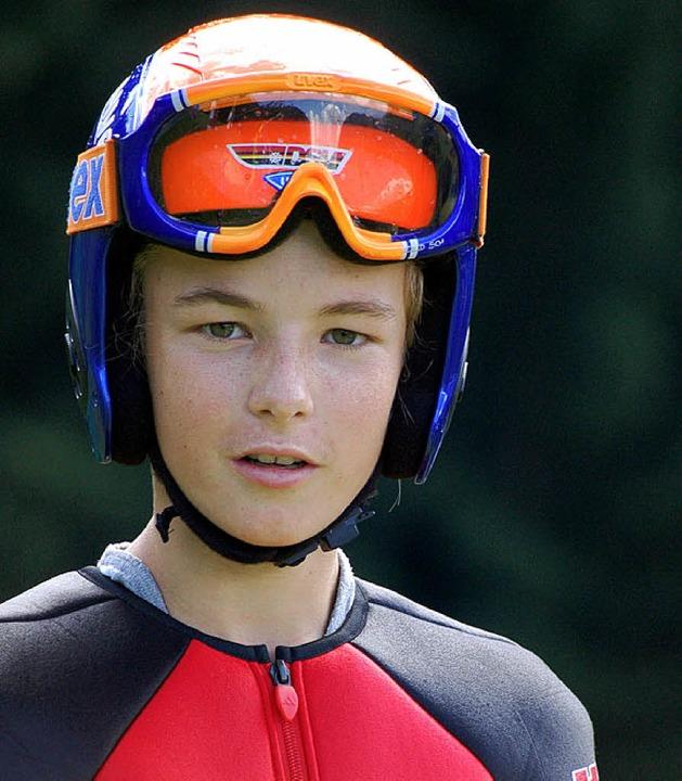 Schon in Kindertagen ein Flugtalent: Tobias Simon     | Foto: Junkel