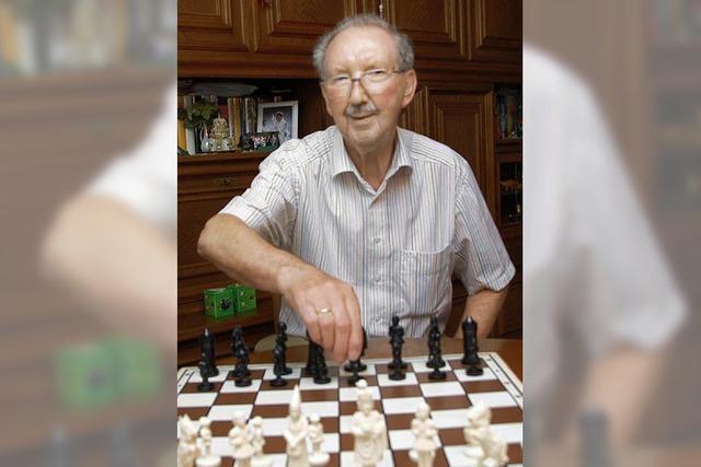 Schachspiel und Golfen sind seine Leidenschaft
