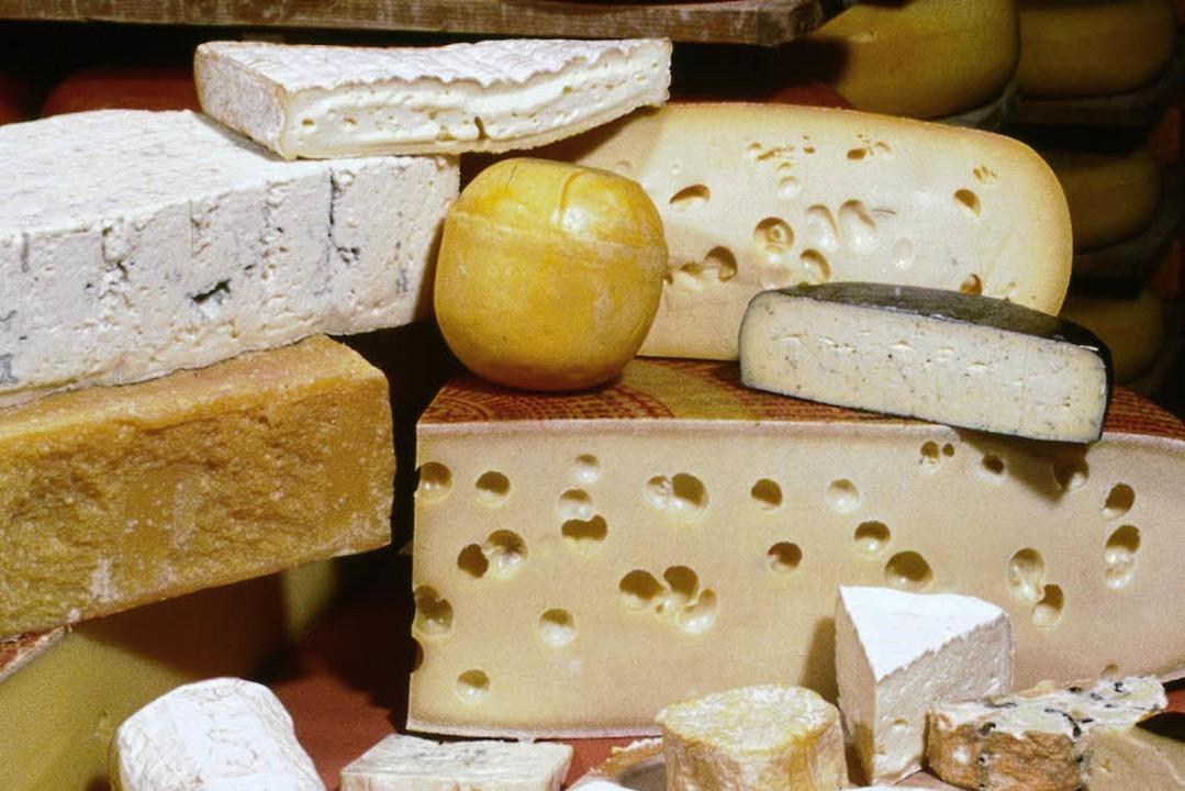 Auch im Käse sind DSM-Wirkstoffe.    Foto: DSM
