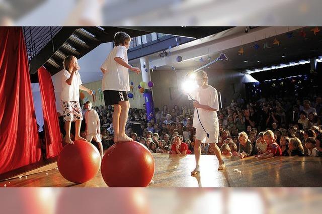 Nachwuchsartisten zeigen Kreativität und Spielfreude