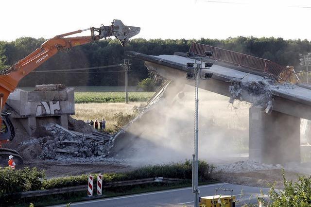 10 000 Tonnen Beton wurden bewegt