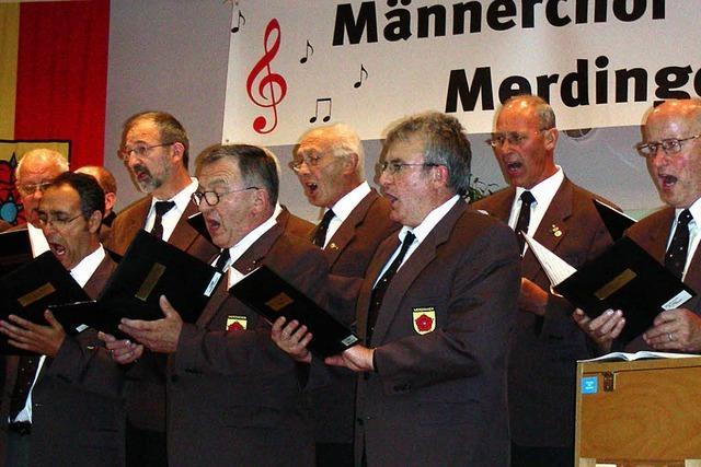 Singen stiftet Freundschaften