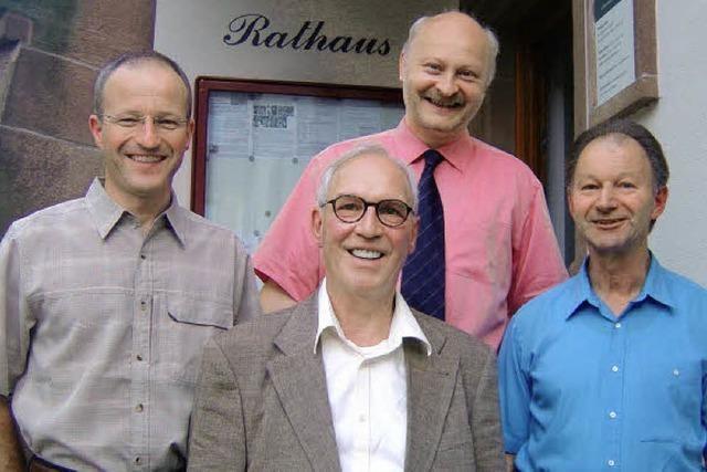 Wittnau verabschiedet vier Gemeinderäte