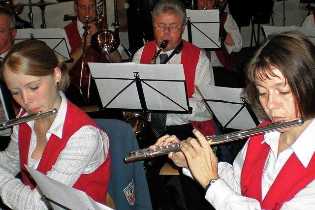 Das Musizieren macht allen richtig Spaß