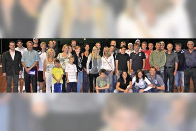 Tennis: Nach 100 Spielen standen die Stadtmeister fest