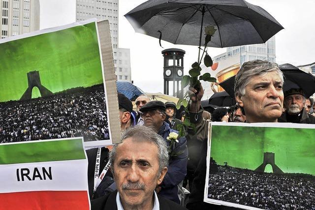 Rückendeckung für Opposition im Iran