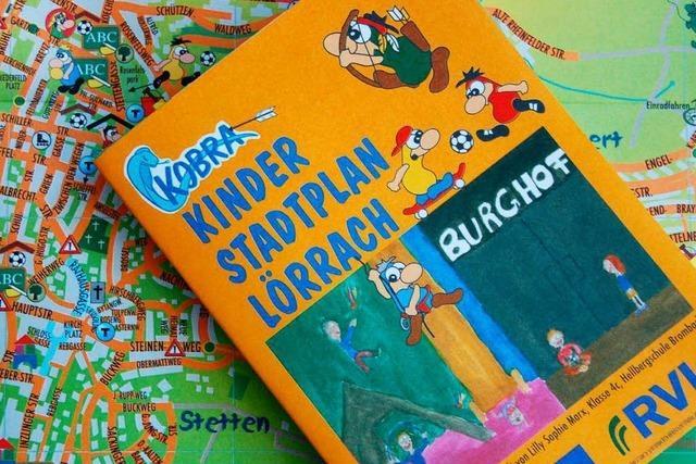 Neuer Kinderstadtplan für Lörrach