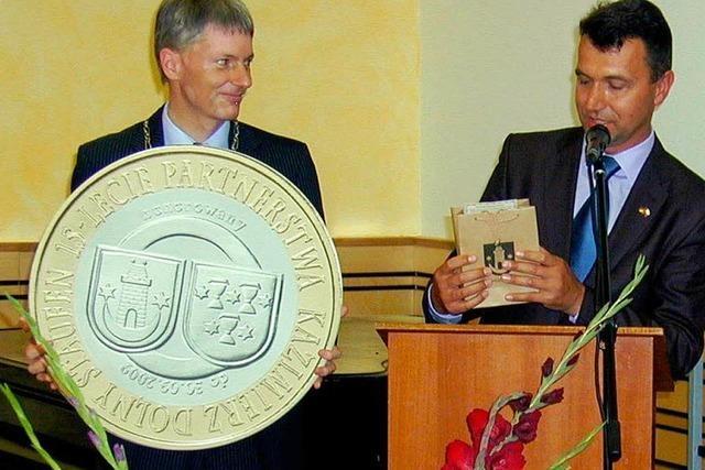 Kazimierz leistet Euro-Einführung Vorschub