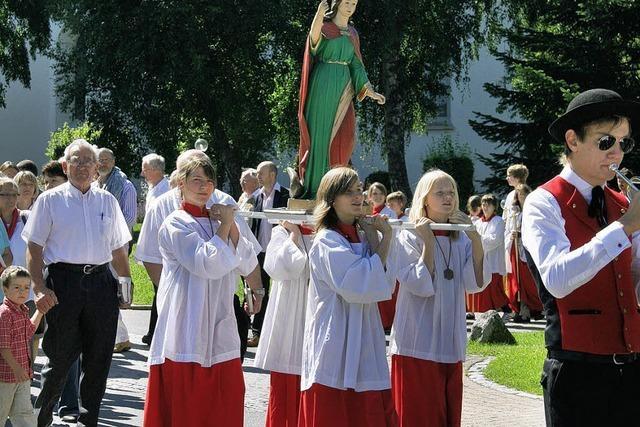 Ein Fest zu Ehren der heiligen Margareta