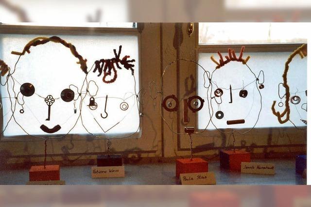 Kinder-Kreativ-Projekt im Schulhof