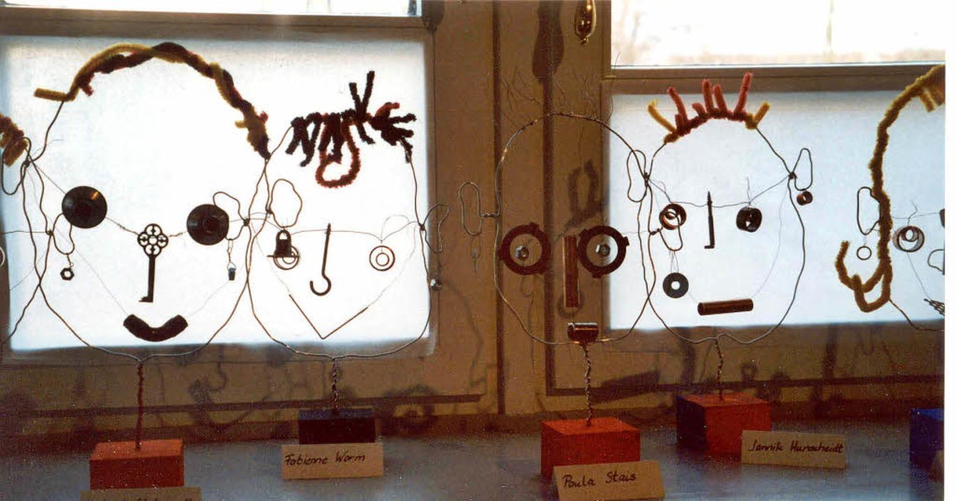 Vielleicht könnte Kunst beim Kinder-Kreativ-Projekt auch so aussehen.   | Foto: BZ