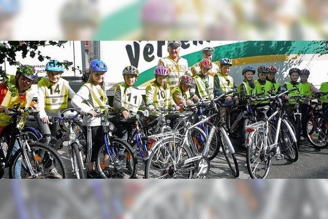 Räder für die Polizei