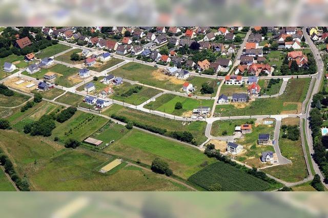 Gottenheim will zwei übersehene Planungspannen beheben