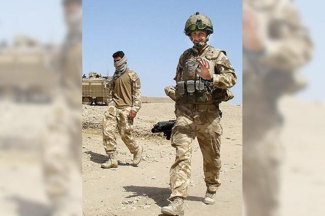 Lizenz zum Schießen in Afghanistan