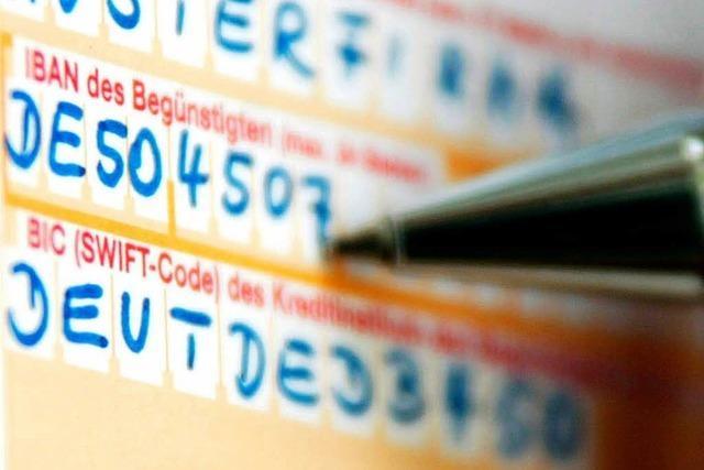 USA dürfen europäische Bankdaten einsehen