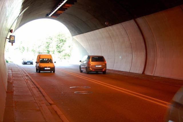 Hugenwaldtunnel zwei Nächte lang gesperrt