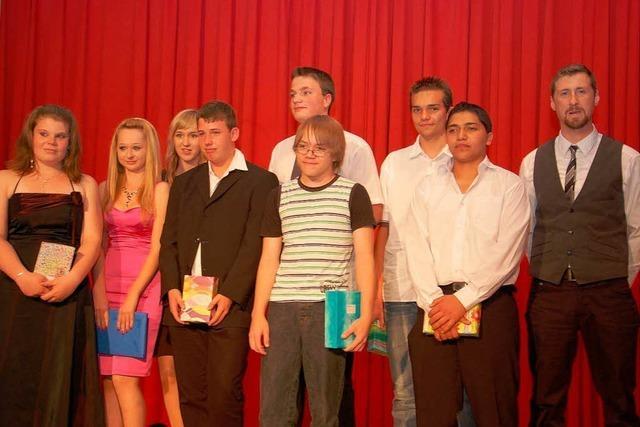 Abschlussfeier der Breisacher Julius-Leber-Schule