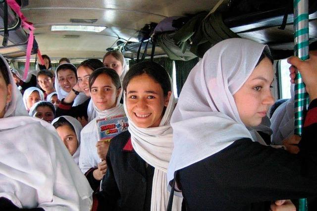 Solarküche für Mädchen in Kabul