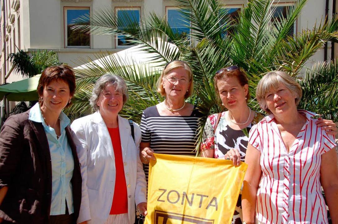 Das Solar-Komitee des Zonta-Club Bad Säckingen Area  | Foto: Nina Witwicki