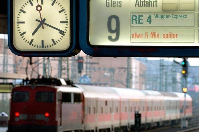 Zug verspätet – mehr Geld zurück